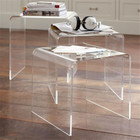 Transparent Table Highly Transparent Acrylic Wedding Dining Table Plexiglass Lucite Ghost Table For Event And Party