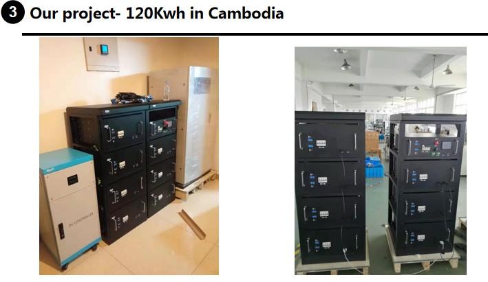 2.5kwh 4.8kwh 7.2 kwh 48V Lifepo4 bateria de iões de Lítio li-ion bateria de lítio para o sistema solar em casa