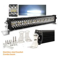 Barra Led Bar 22 32 42inch Super Bright Wholesale Offroad Combo Car 4x4 3 row Barra 52 inch led Light Bar