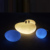 rechargeable led stone light / Garden Decoration Remote Control Elegant Mood Shape LED Light stone