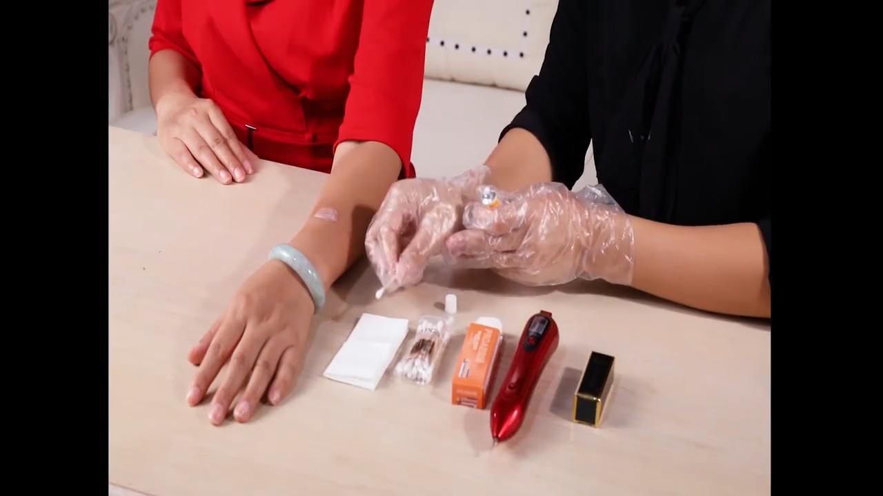 Bellezza Rimozione Talpa Al Plasma spot Mole penna laser per la cura della pelle