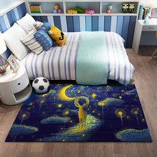 Ковер для гостиной, детский коврик для ползания, подгонянный коврик для спальни, моющийся ковер, большой коврик для украшения спальни, коври...(Китай)