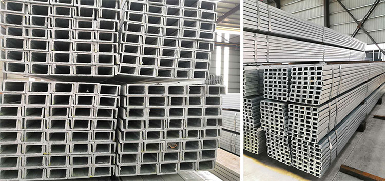 Factory direct supply galvanized light steel channel