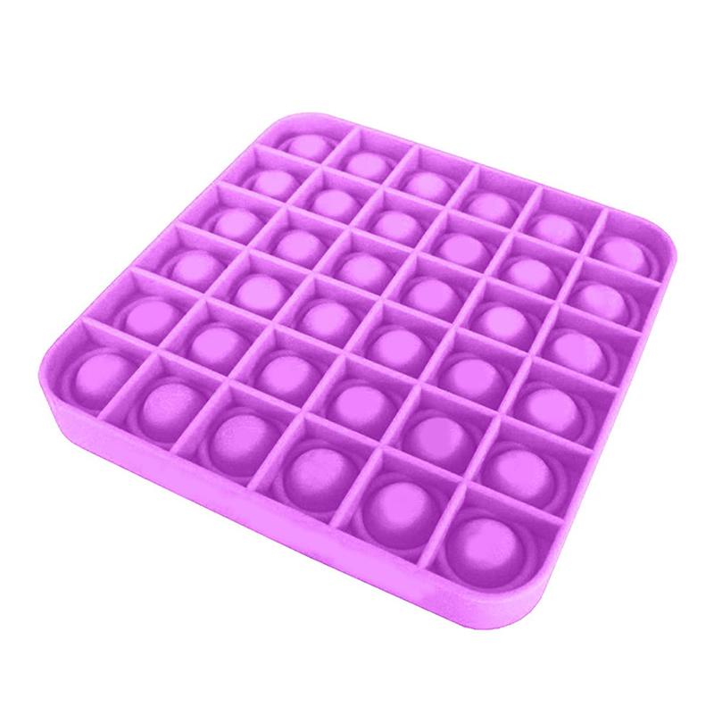 Push Pop Bubble Sensory Toy Stress Relief Special Needs Silent Classroom Bubble Fidget for Kids