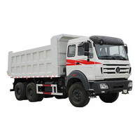 low price used dump truck for sale 3142KZ BEIBEN 8X4 dump truck