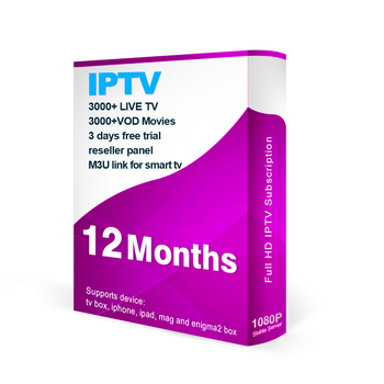 Best USA eutv iptv 1 Year  IPTV  for MAG, tv box, iptv smarters apk Live tv VOD iptv reseller Panel
