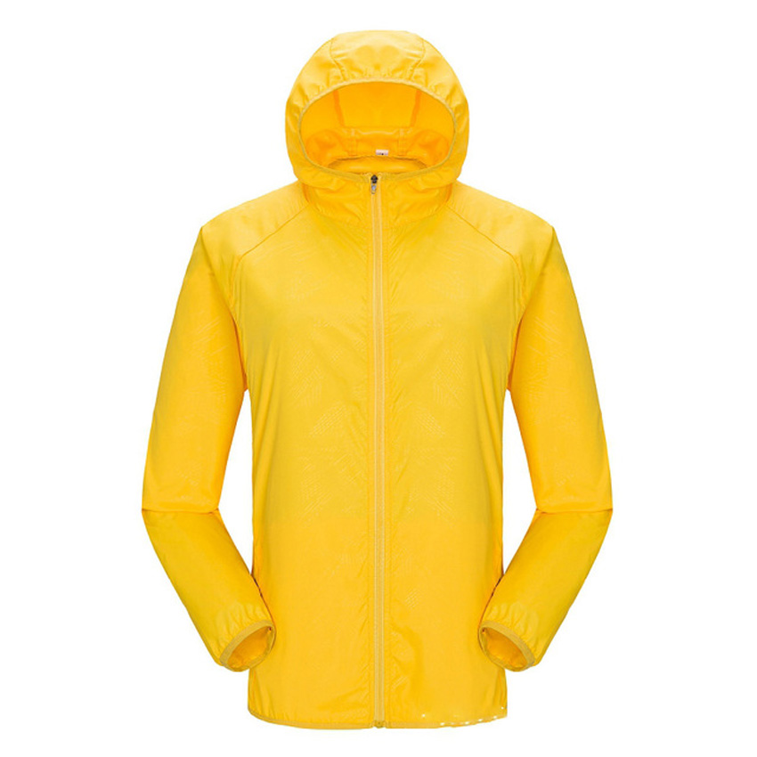Quick Dry Skin Men's Jackets Couple Casual Anti-UV Windbreaker Hooded Coats Mens Clothing Hot Sale