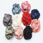 Ladies'shoes hand-made cloth flower Shoe Flower Accessories