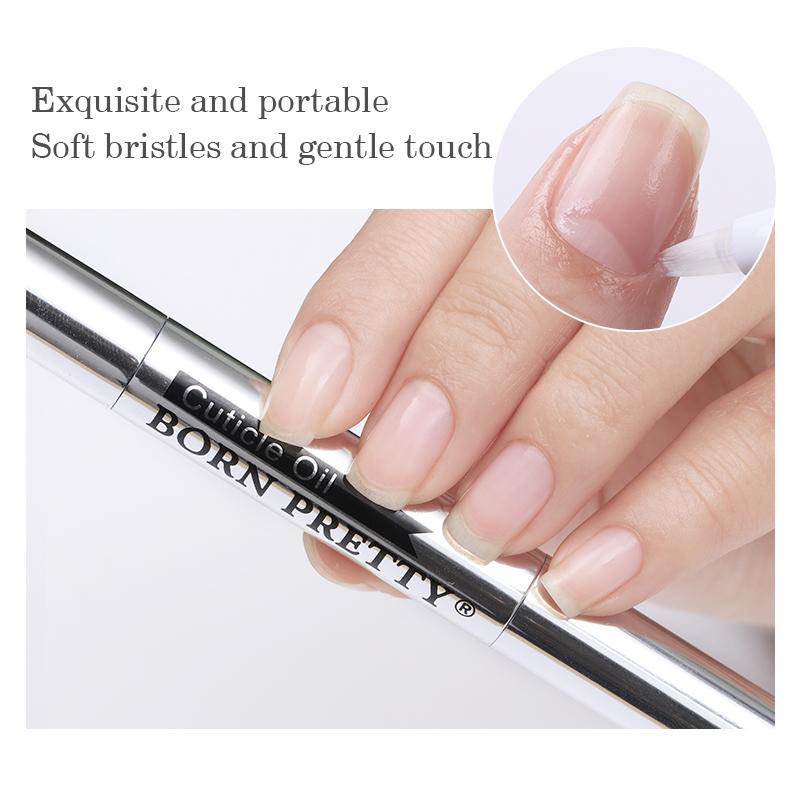 BORN PRETTY Wholesale 5 Flavors Nail Manicure Cuticle Revitalizer Oil Nail Care Cuticle Oil