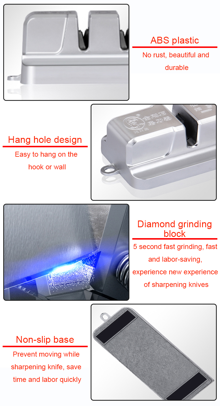 High Efficiency Best Price Mini Diamond Knife Sharpener Ceramic