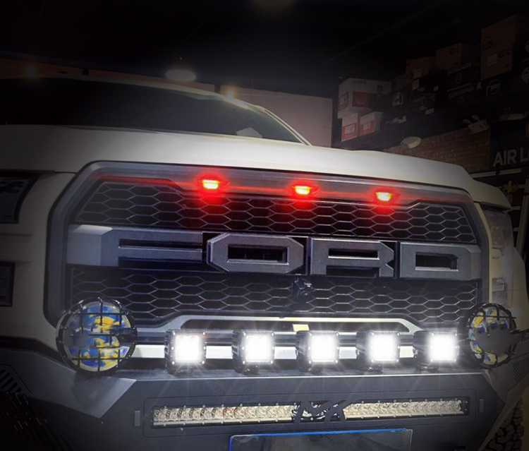 AURORA L-E13T 2 Inch Single Row Waterproof Offroad Scene LED Light Bar