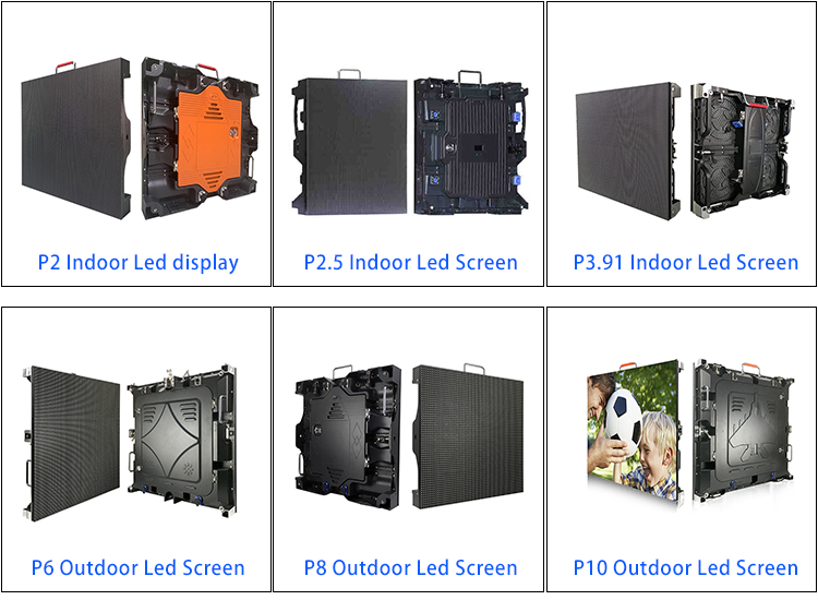 P2 Led ekran monitör 5 inç Led