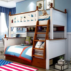 Wooden bunk bed slide bunk bed kids bedroom furniture bunk bed for sale
