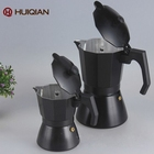 Classical aluminum stove black cooks coffee maker 4 cup