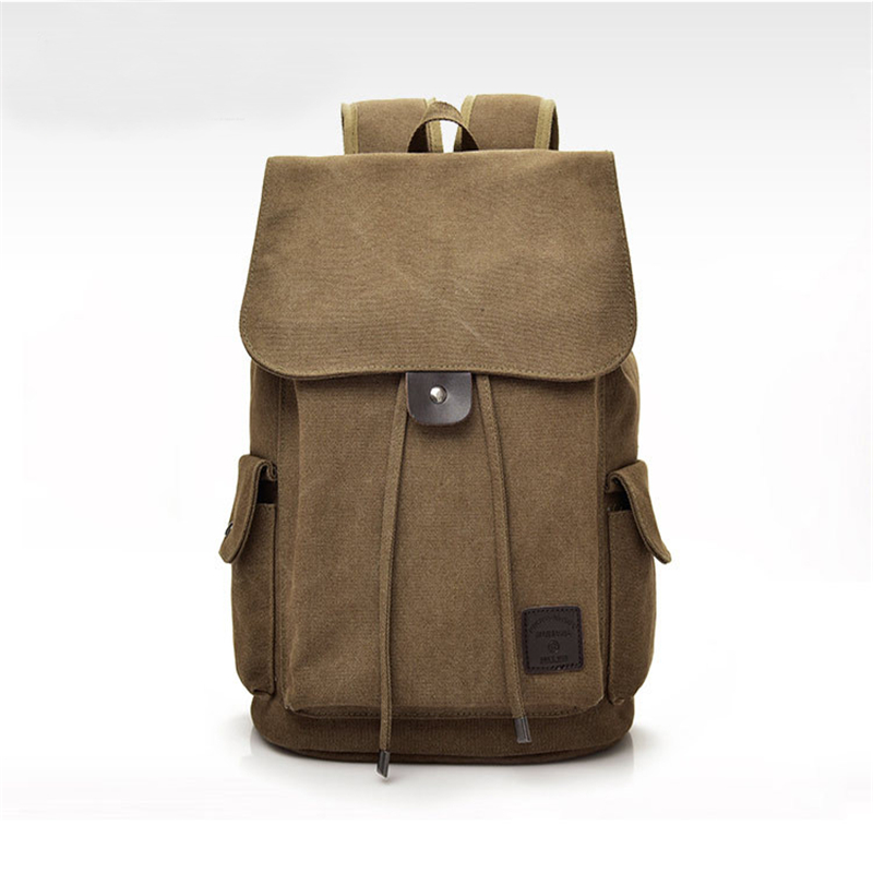 mochilas Men's Canvas Backpacks Multi-purpose Bucket Mountaineering Travel Bag Large Shoulder Bags Men Army Trip Foldable Hand Bag