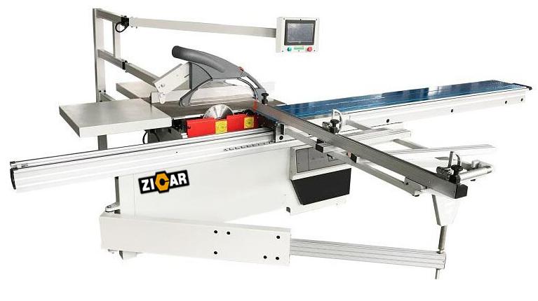 ZICAR 양질 MJK3200C 슬라이딩 테이블 패널 톱 기계 목공 기계