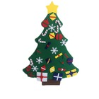 A variety of styles Home Wall Hanging Decoration Xmas Gift Diy Felt Christmas Tree Set