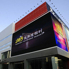 P16 Full Color Display Screen Commercial Curved Led Sign Outdoor Advertising