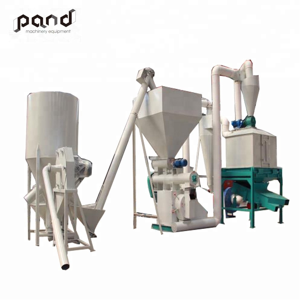 380V 50HZ 3phase animal feed granulating machine mill <strong>chicken</strong> feed production line