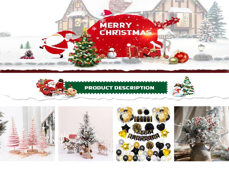 Three-dimensional faceless doll gift bag Christmas stocking gift bag Christmas decorations