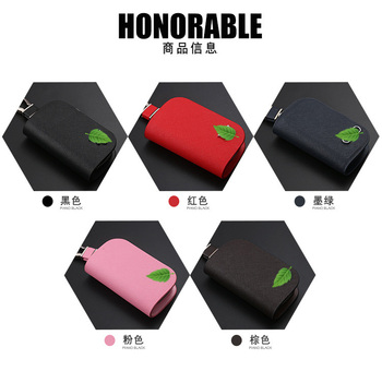 Mcow 2019 Car Accessories New Multi-function Genuine Leather Card Car Keys Holder Organizer Bag Wallet