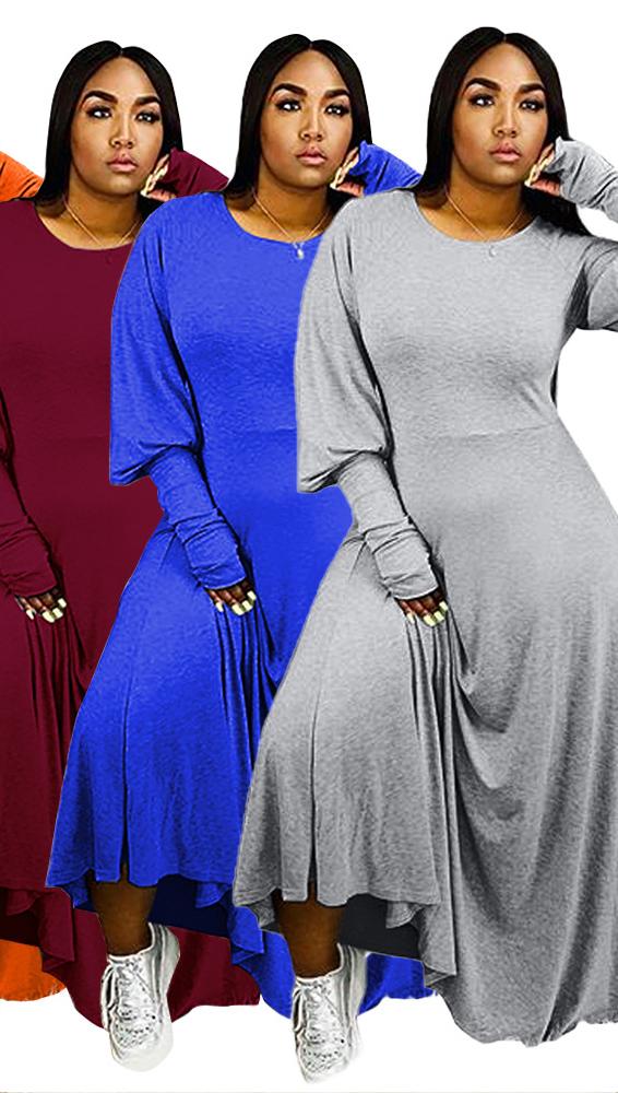 Baju Wanita Desain Baru MT112-8002, Baju Kasual Musim Panas, Baju Rok Wanita