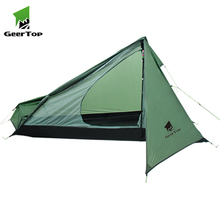Geertop Ultralight nylon wandelen lichtgewicht camping gear backpacken piramide tent