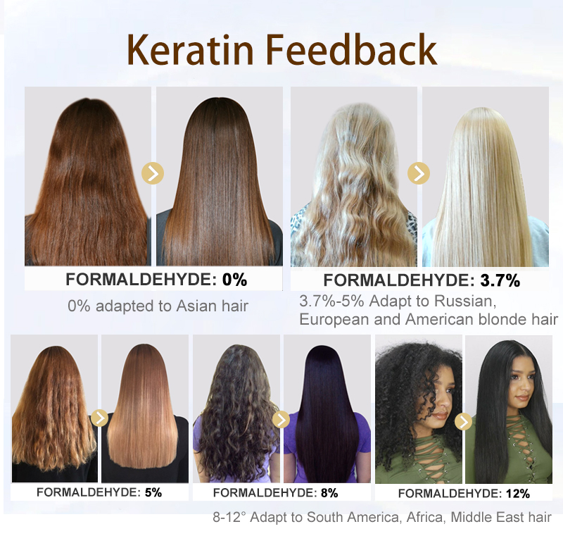 PURC Private Label Hair care oil Keratin repair treatment shampoo and conditioner for repair damaged hair