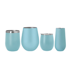 Many Capacity 6/8/12/16 oz Wholesale Amazon Hot Selling Double Wall Stainless Steel Wine Tumbler Cup