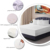 OEM Tex-Cel Changshu Bamboo Fiber Terry Fabric Waterproof Bed Bug Mattress Cover