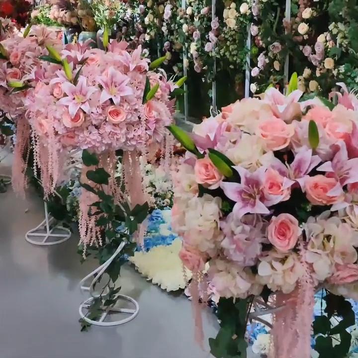 Fabrika toptan simülasyon yapay bitki plastik taşınabilir çiçek sepeti