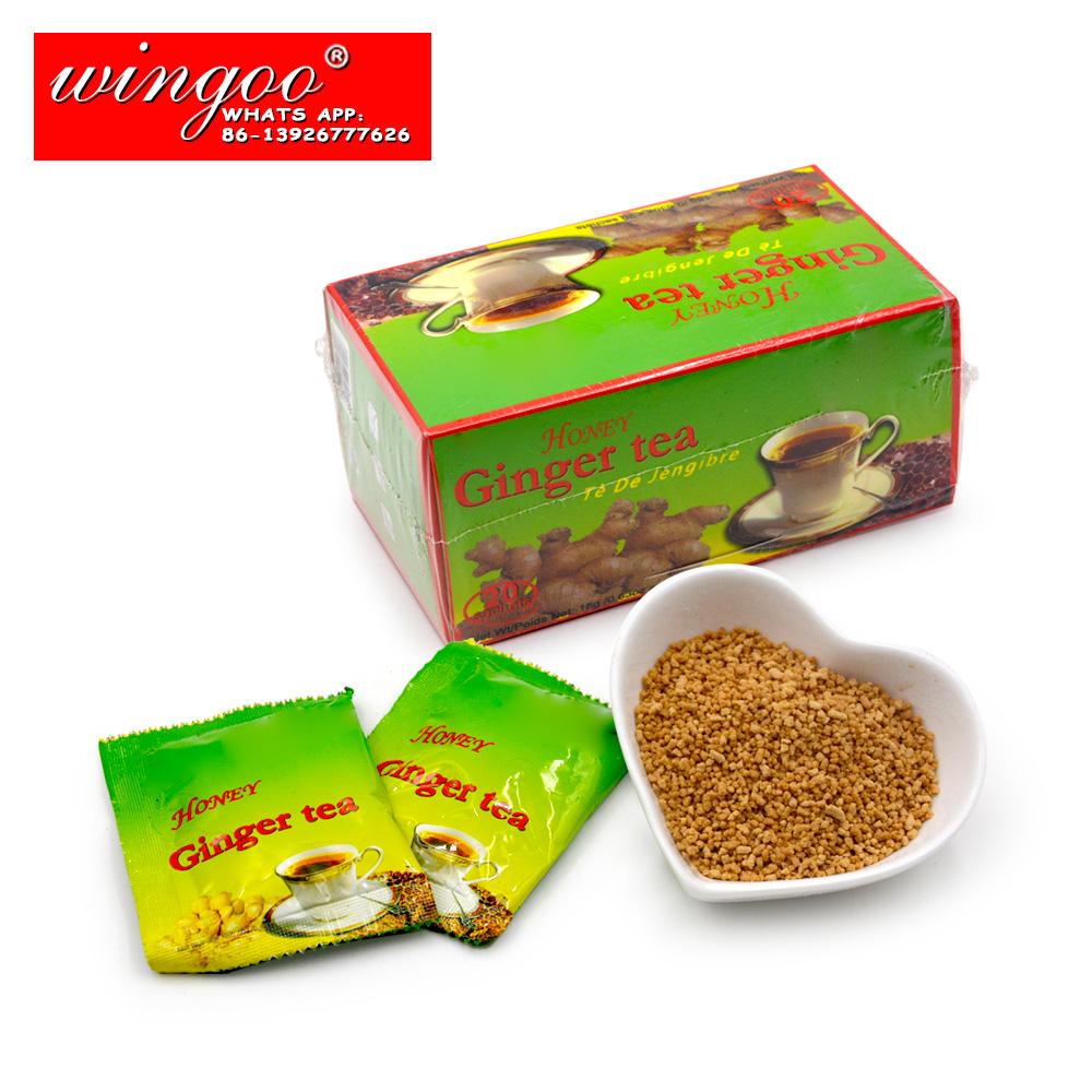 Ginger Tea Honey Ginger Tea Free Sample Instant Ginger Powder - 4uTea | 4uTea.com