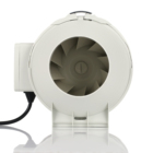 4 inch 220v silent mixed flow air smoke extractor fan exhaust fan