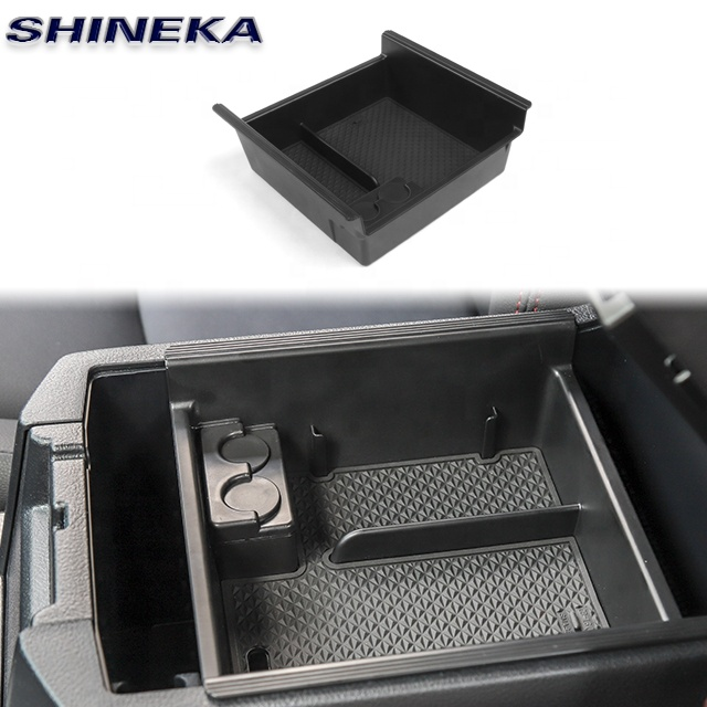 ABS <strong>Car</strong> Accessories <strong>Console</strong> Box <strong>Center</strong> <strong>Console</strong> Armrest Box for Toyota 4Runner 2017+