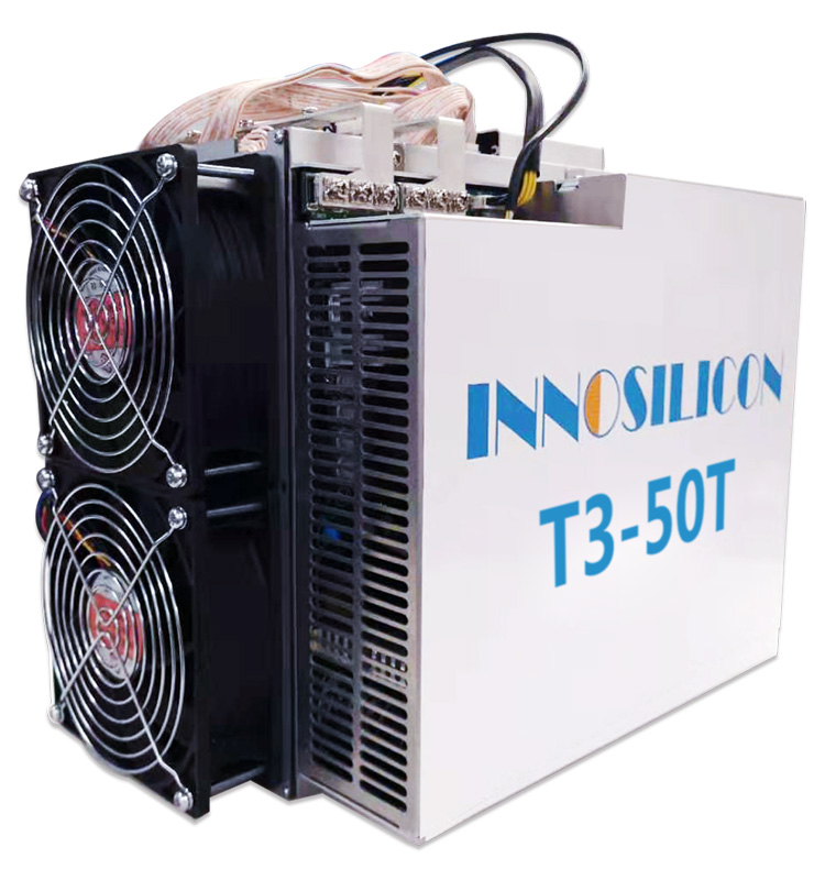 Ready Profitable INNISILICON T3 3100W Bitcoin Mining Machine T3 50T 57T With PSU