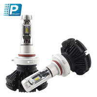 High power 50w X3 H7 car accessories auto h7 headlight 6000lm car led head light bulb