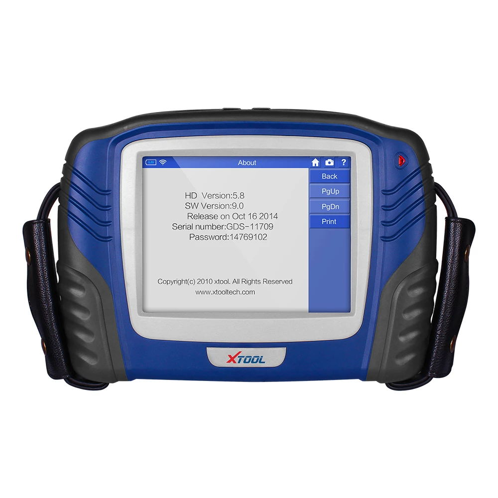 Auto programmeren auto scanner Bluetooth VCI OBD2 engine diagnostic tool professionele Olie reset met KAN BUS UDS
