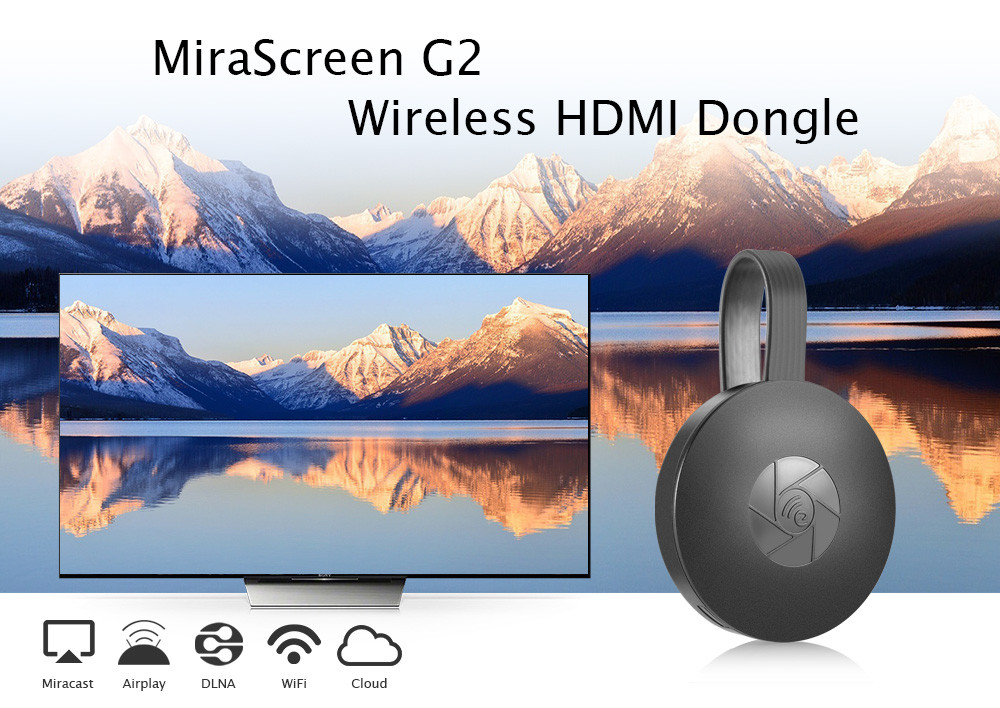 MiraScreen G2 Wireless Display Adapter Dongle WiFi Sender Empfänger für iOS / Android Smartphone