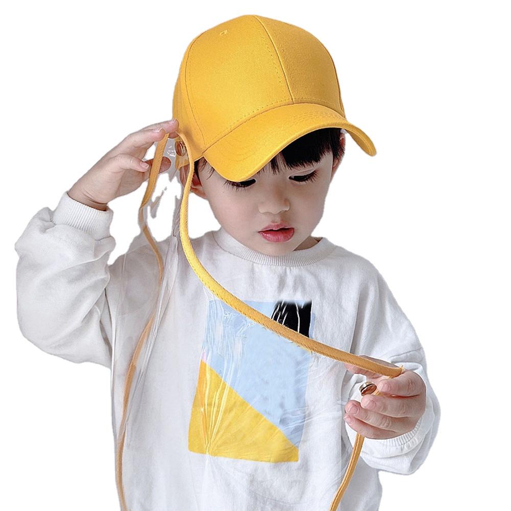 2020 Zon Gezicht Beschermen Caps Hoeden Baseball Cap Kids Kindgardent Hoed Voor Buiten