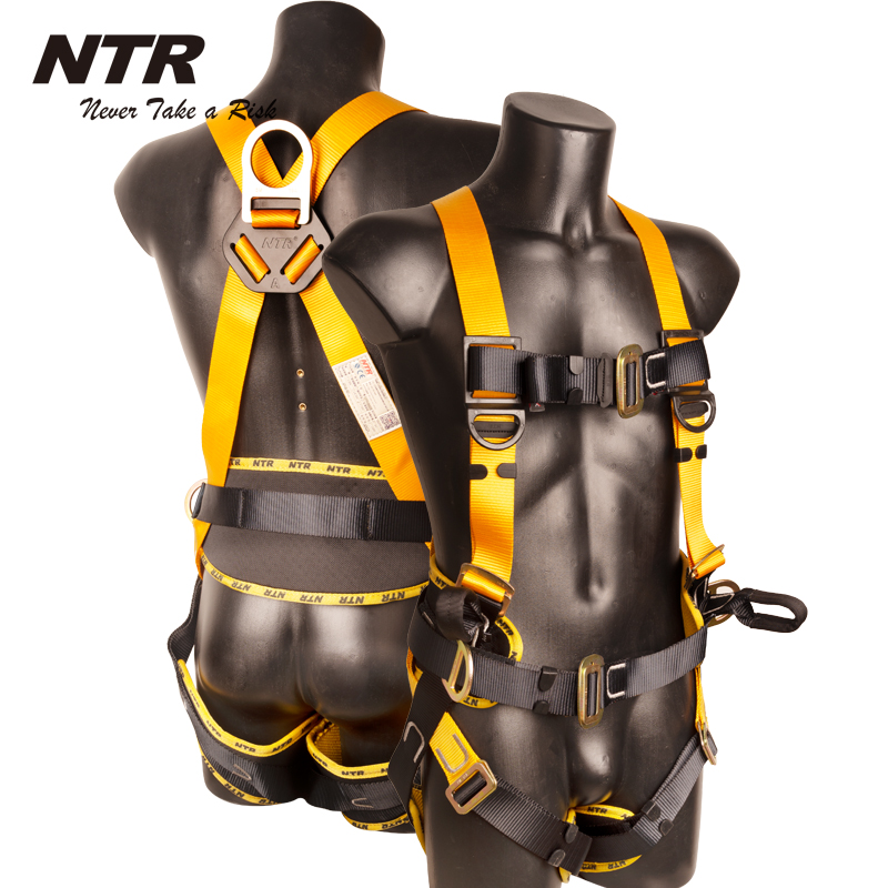 roofing toddler construction full body safety harness with lanyards