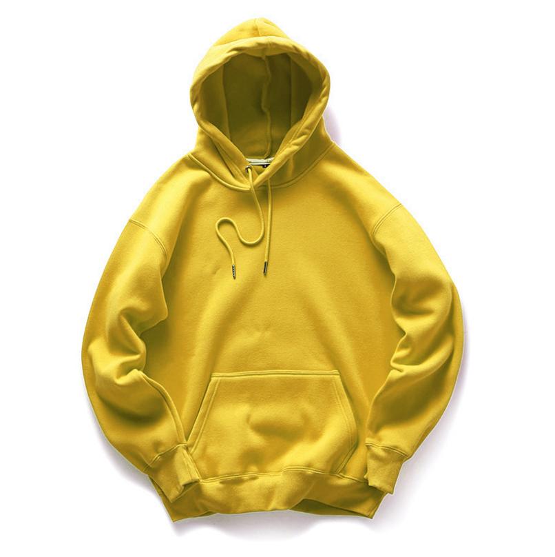 2020 yüksek kalite toptan erkekler hoodies % 100% pamuk spor kapşonlu ceket boş büyük beden kazak hoodies tişörtü erkekler için