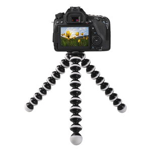 Factory Price Direct Sale S/M/L/XL size Mobile Flexible Octopus Tripod Stand for Digital Camera Mobile Phone Go pro 7 6 5