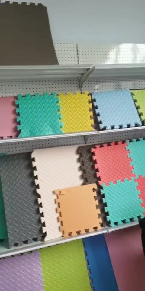 Anak-anak eva lantai bermain busa puzzle interlocking mat