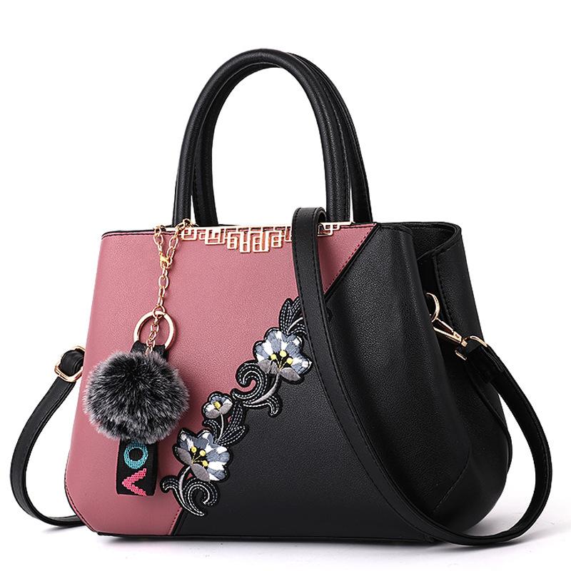 Chinese Traditional Flower Vase Handbags Trade Shows Bolsa Feminina De Couro For Women