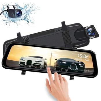 "Streaming Dual Dash Cam for Car 10"" Full HD 1080P Dash camera Car DVR Vehicle Camera Video Recorder Dash Cam"