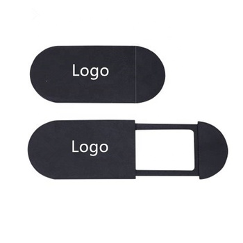 promotion gift custom logo Anti-hacker lens cover webcam privacy slider cover for laptop computers mobile phones