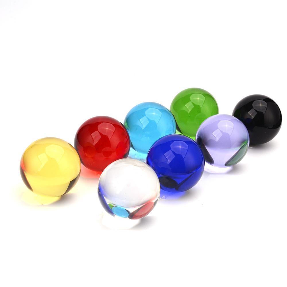 Wholesales 30mm 40mm 60mm 80mm 100mm 150mm 200mm Clear Crystal Balls Glass Magic Balls Photography Ornament Parts