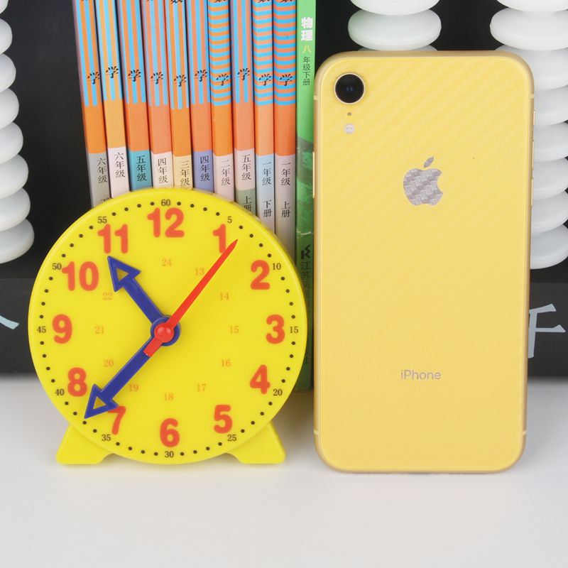 Hot selling primary school mathematics teaching aids 3 needles teaching aids time for students 10 cm clock model