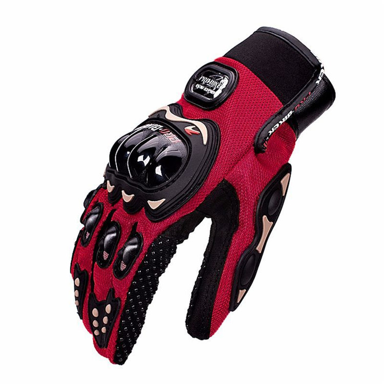 Hot Sales Durable Windproof full finger Protective Anti-Slip Motorcycle Cycling Gloves for Men and Women