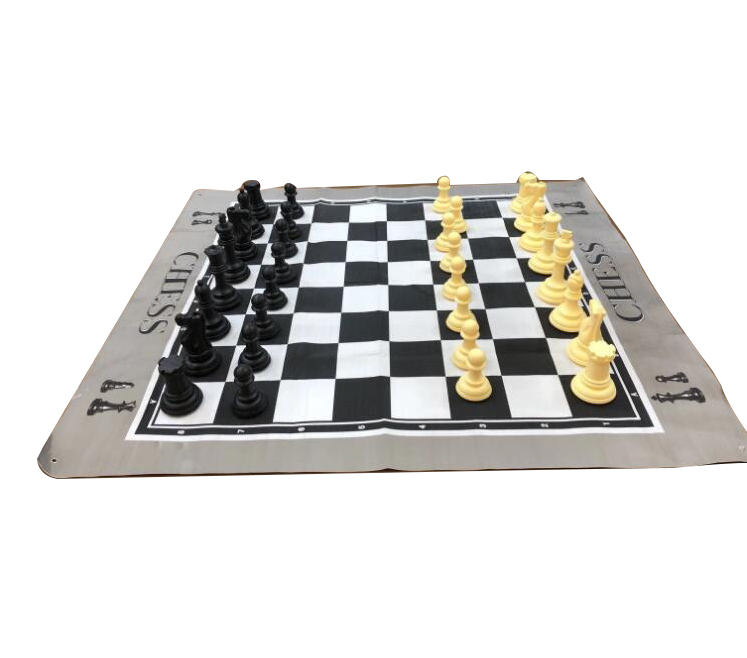 2019 New Giant PU outdoor chess games set 26 cm large chess pieces ajedrez  chess game board